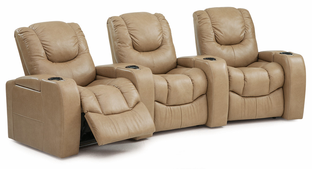 Palliser Equalizer Series Bisque Home Theater Wall Hugger Recliner Furniture