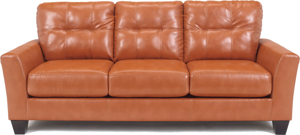Attirant Good Leather Sofa Orange With Sofa Orange