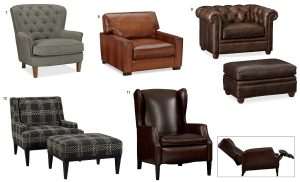 Guide types of recliners